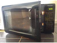 Black Panasonic 800w Microwave