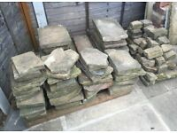 Yorkshire Stone Flags and Small Walling Stone