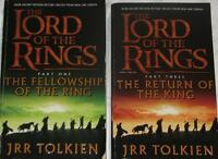 3 x Lord of the Rings Fellowship, Two Tower and The Hobbit Books