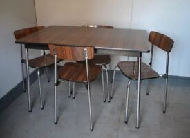 Vintage 1960 Tavo dining table & chairs