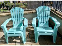 Habitat sun lounger chairs