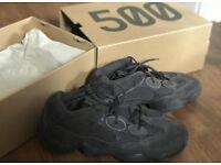 Adidas Yeezy 500 Desert Rat utility black UK Size 8.5 Deadstock!