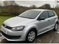 Volkswagen POLO 2011 - 12 Months MOT, Low Insurance, 77600miles, 5 doors, 1198cc