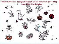 Tattoo artist, cosmetic tattooist and piercer available in West London