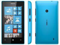 Nokia Lumia 520 - Blue - (3 Network)