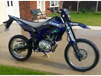 ONE OFF SPECIAL EDITION Yamaha WR125R in immaculate showroom cond HPI Clear Very low mileage UK DEL