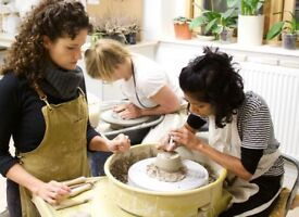 Give it a go! Pottery Courses at Illyria Pottery, Oxford.