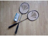 Badminton Racquet & Plume