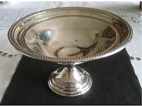 Silver Plated Tazza/Bonbon Dish