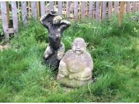 Garden ornaments Buddha lady great pattener DISS REDUCED !!!!