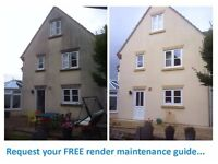 Render wall & Roof cleaning - Algae & moss removal - K Rend