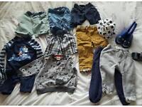 Baby boys bundle of clothes