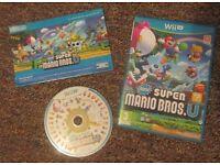 Super Mario Bros U, Wii U game