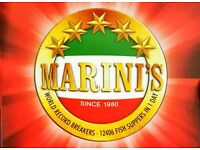 Marini's Center Takeaway - Counter Staff Required