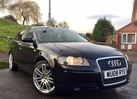 **Audi A3 1.9 TdiE Sportback**£30 a year Tax**Only 88k**