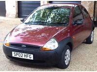 Ford KA 1.3 - very low mileage reliable runaround and 10 months MOT - cheap to tax, insure and run