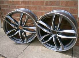 """RS6 NEW STYLE 19"""" ALLOYS WHEELS X2 (PAIR)"""