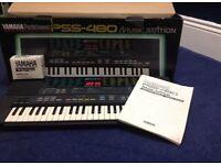 Yamaha PortaSound PSS-480 Electronic Keyboard - Great Condition.