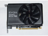 EVGA NVIDIA GTX 750 Graphics Card - 1GB