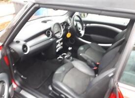 Red Mini One. 2010. Convertible,£4350 ONO