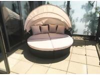 Outdoor Furniture - Rattan Sun Bed