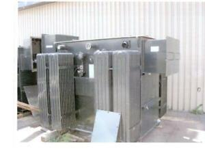 Maloney Electric, ONAN 2000 KVA Three Phase Pad MountTransformer, 12.8 kV to 600Y/347V