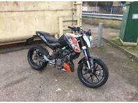 KTM DUKE 125cc 2011 Model.
