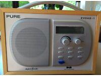 Pure Evoke 1 DAB and FM Radio