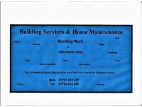 Building & Home maintenance services
