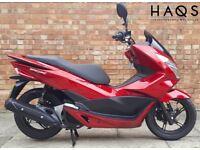 Honda PCX 125cc (16 REG), As New, Only 550 miles!