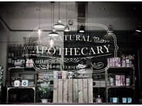The Natural Apothecary is looking for FRONT OF HOUSE/WAITERS - great salary, DAYTIME ONLY.