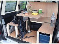 SPACE Peugeot Partner Camper Van Conversion Module
