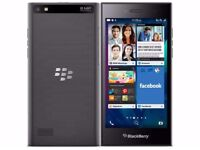 BlackBerry Leap Smartphone with charger and Box