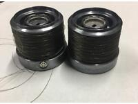 2xDIAWA CROSSCAST -5000 spare spools