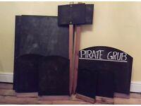 9 x Pub Blackboards for sale in Hastings