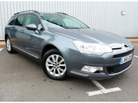 2010 Citroen C5 VTR PLUS 1.6 HDi NAV *** FSH / 61 MPG / CRUISE / 2 KEYS ***