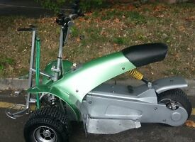 Fourstar single seater golf trike in good condition