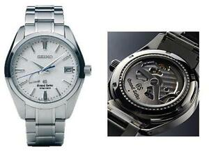 "BRAND NEW IN BOX Grand Seiko Spring Drive SBGA011 (Snowflake)  CAL.9R65 ""MADE IN JAPAN"" TITANIUM IN STOCK"