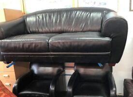 Sofa color black 2+ 1+1