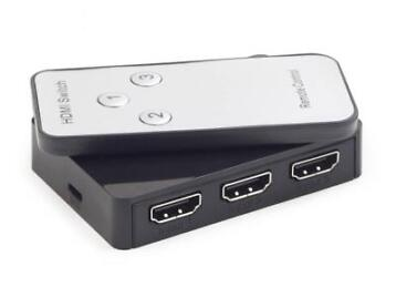Multi HDMI 3-poorts Switch Met Afstandsbediening, Maxxter
