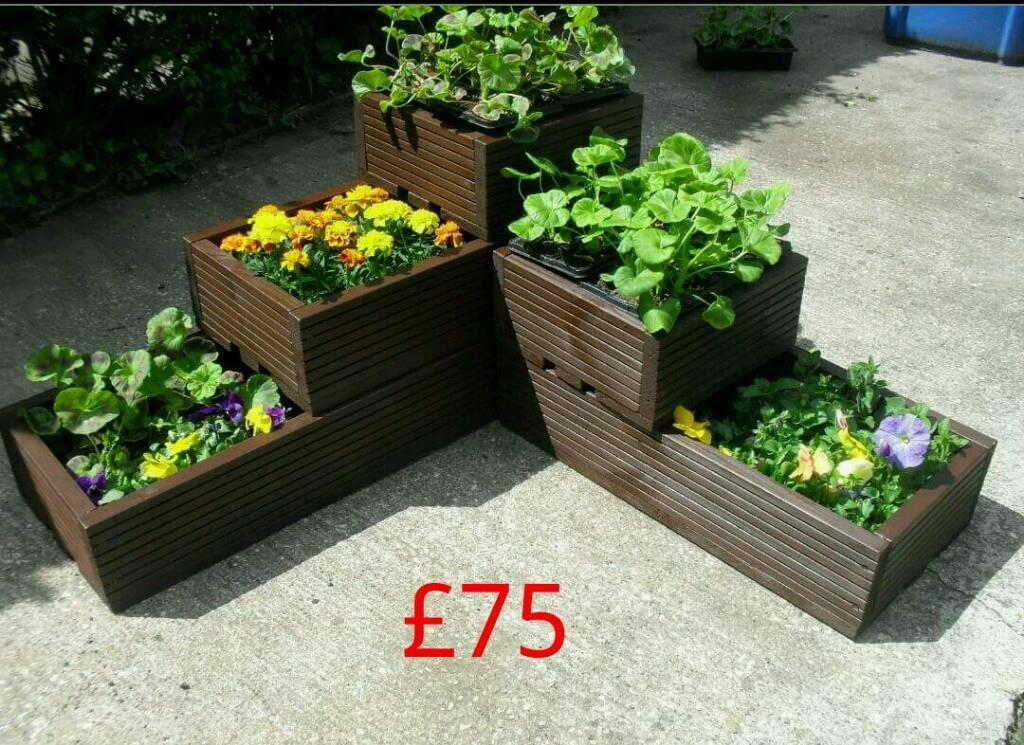 Decking planters in carlton nottinghamshire gumtree for Garden decking gumtree