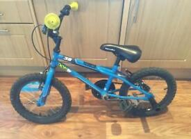 Boys 16 inch stunt bike