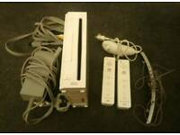 WII console and a game
