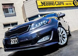 2011 Kia Optima SX T-GDI! A/C+Bluetooth+USB! ONLY $164/bi-weekly