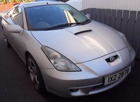 2002 Toyota Celica, Silver, full leather interior all good