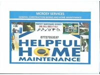 McRosy Home Maintenance & Construction services for all your maintenance and Building jobs