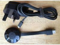 Google Chromecast 2 NC2-6A5 HD WiFi Digital HDMI Media Streaming Device Netflix Youtube