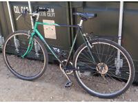 Koga Miyata Roadrunner retro hybrid commuter town bike, 57cm frame, 7 gears, 700c wheels