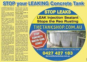 STOP CONCRETE TANK LEAKS !! - Victoria Wide Service -Farms, Homes Bairnsdale East Gippsland Preview