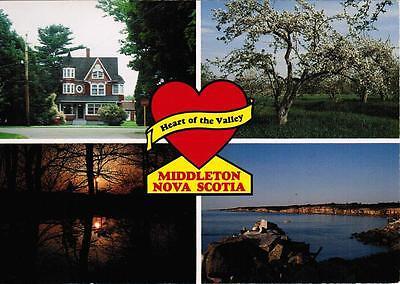 Middleton Nova Scotia  Annapolis County  Bay Of Fundy Canada  Post Card Postcard